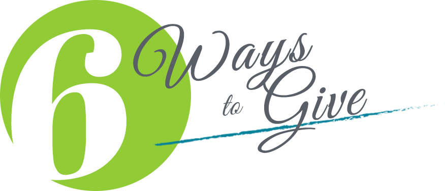 6 ways to give